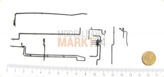 Ersatz-TS. Kesselleitungen z.B. für ROCO DB Dampflok BR 042 1:87 ...