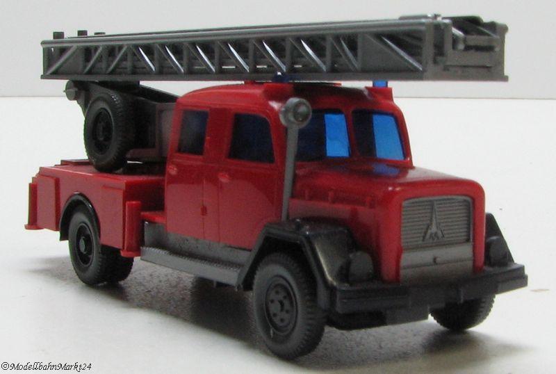 Wiking 1//87 Nr 20 620 Magirus Feuerwehr Leiterwagen DL 30 OVP #3555