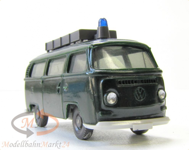 wiking 1030 5 a vw bus t2 polizei ungeteilte frontscheibe dachaufbau scale 1 87 modellbahnmarkt24. Black Bedroom Furniture Sets. Home Design Ideas