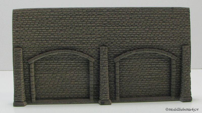 ziegelstein mauer torbogen br ckenverkleidung 1 87 modellbahnmarkt24. Black Bedroom Furniture Sets. Home Design Ideas