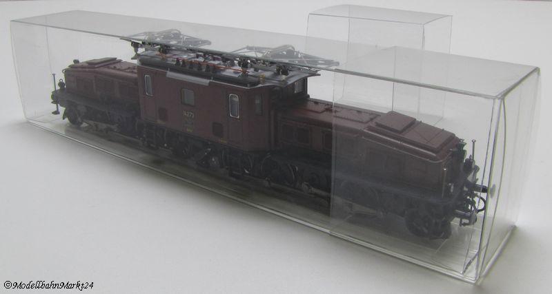 50 x Leerverpackung Klarsicht-Faltbox Transporter Klein-LKW 1:87 30x40x96 mm NEU