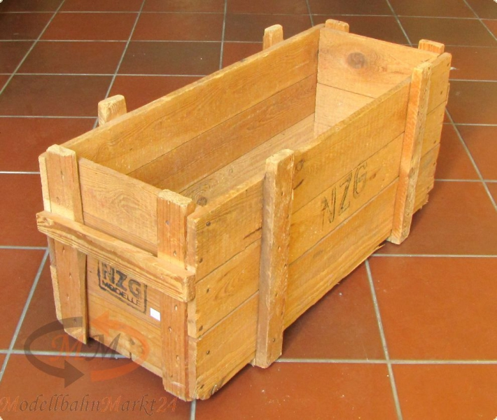 nzg holzkiste kiste berseekiste ohne deckel modellbahnmarkt24. Black Bedroom Furniture Sets. Home Design Ideas