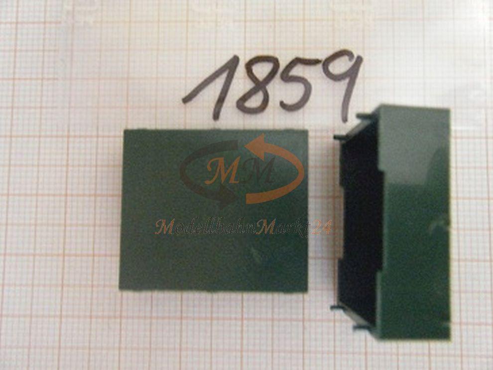 30x ALBEDO Ersatzteil Ladegut Unterfahrschutz-Kasten grün H0 1 87 - 1859  | Diversified In Packaging