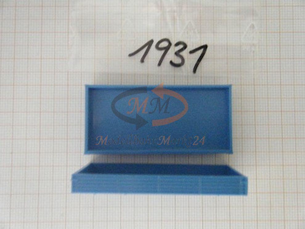 10x Albédo Pièce De Rechange Chute De Matières Pick-up 7,5t Holtpritsche Bleu Clair H0 1:87 - 1931
