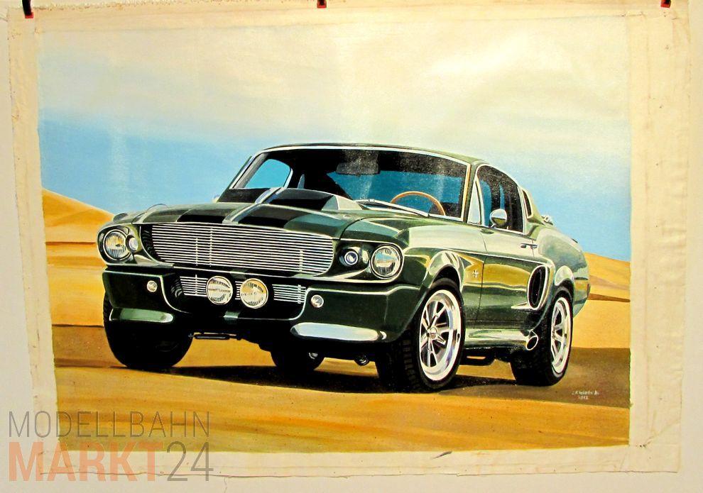 Ol Bild Leinwand Us Muscle Car Pony Car Mustang Modellbahnmarkt24