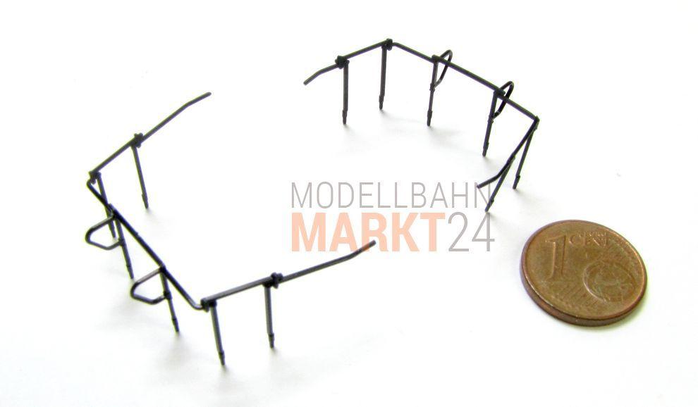 NEU 2 x Ersatz-Geländer z.B für MÄRKLIN Elektrolok EG 2//E70 Spur H0 1:87