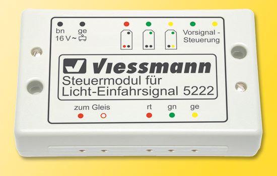 viessmann 5222 steuermodul f r licht einfahrsignal neu. Black Bedroom Furniture Sets. Home Design Ideas