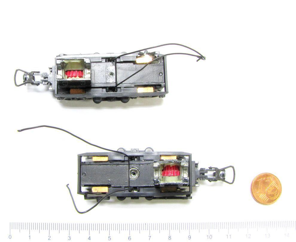 ROCO 62752 Ersatz - Satz Drehgestelle für DB Diesellok V 200 Spur H0