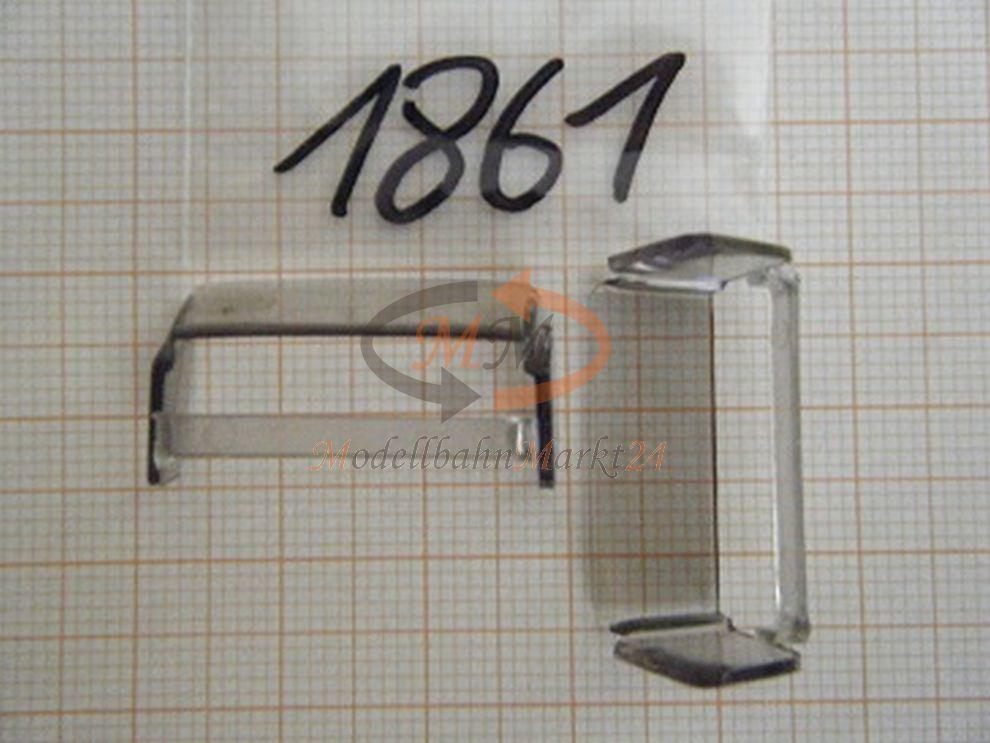 10x Albedo Pezzo Di Ricambio Rinfusa Finestra Vetro Inserto Disco H0 1:87 - 1861-