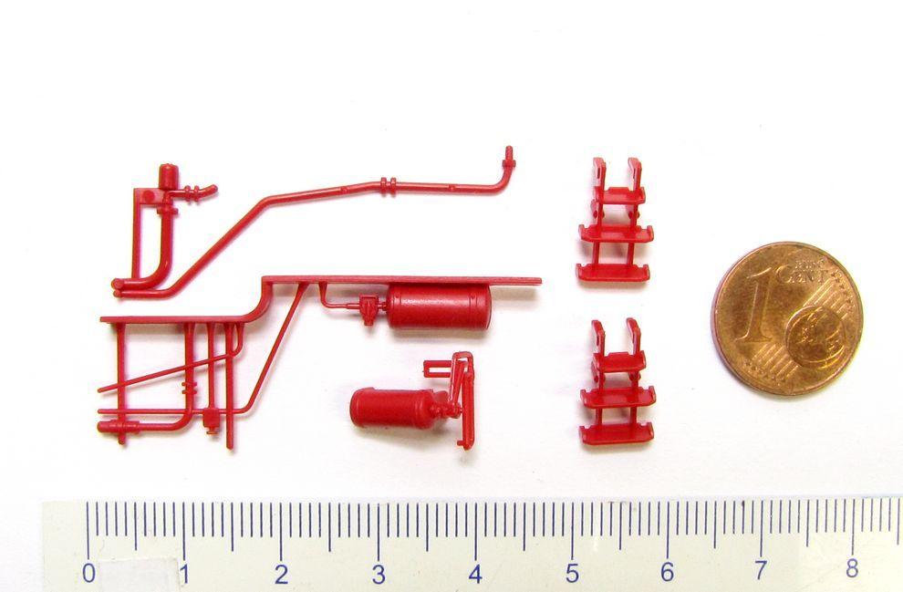 Ersatz-Kleinteile Tender z.B für FLEISCHMANN DB Dampflok BR 38 Spur H0 1:87 NEU