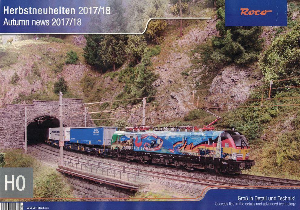ROCO 80117 Hauptkatalog 2017 Groß in Detail und Technik Spur H0 H0e TT NEU
