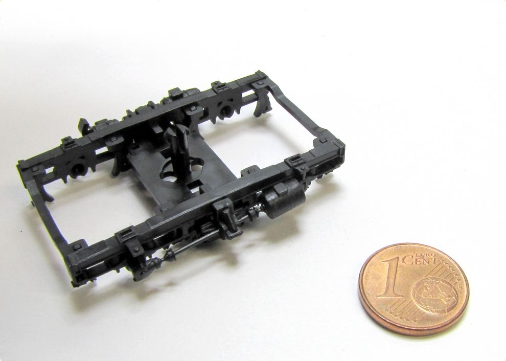 Schleifkontakte H0 für Wagen mit Drehgestell