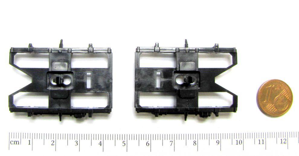 links z.B für ROCO DBAG Nahverkehrswagen 2.Kl H0 NEU Ersatz-DG Blenden rechts