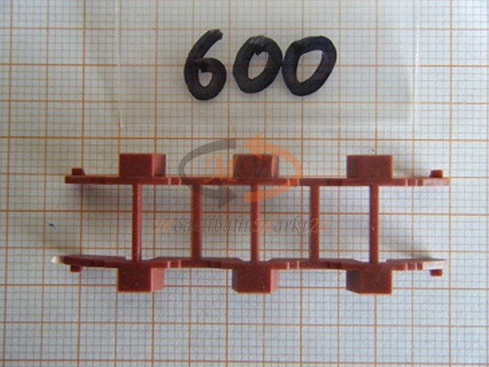 Albedo repuesto enormemente radhalterung hummer chassis 3 trailer 1:87 - 0600