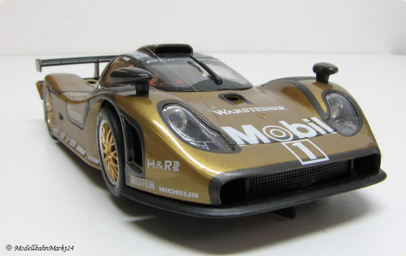 fly car model porsche 911 gt1 98 racing evo rs2 gold. Black Bedroom Furniture Sets. Home Design Ideas