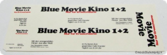 Decals/Naßschieber für HO Blue Movie Kino 1+2