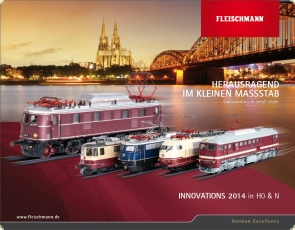 FLEISCHMANN 991420 Innovations 2014 Outstanding in small scale H0 & N - NEW