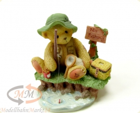 CHERISHED TEDDIES Norm -Patience Is A Fisherman Virtue- Figur Höhe 8,4 cm