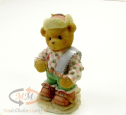 CHERISHED TEDDIES Preston -Riding Across The Great White North- Figur Höhe 8,3cm