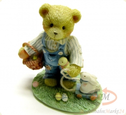 CHERISHED TEDDIES Donald -Friends Are Egg-ceptional Blessings- Figur Höhe 8,8 cm