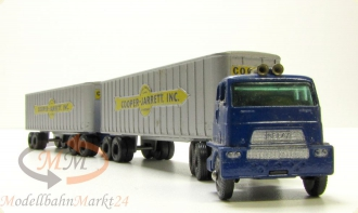LESNEY MATCHBOX Major Pack M-9 Interstate Double Freighter LKW Lastzug - OVP