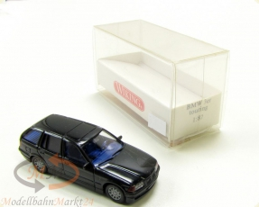 WIKING 19901 BMW 3er Touring 5-t�rig in schwarz Modell im Ma�stab 1:87