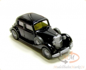 WIKING 832 Mercedes 260 D 4-t�rig in schwarz Modell im Ma�stab 1:87