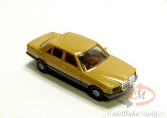 HERPA Mercedes 280 S in beige mit Chrom-K�hlergrill Modell im Ma�stab 1:87