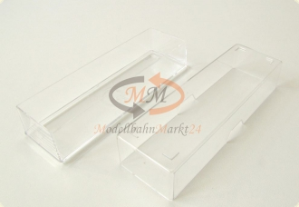 Leer-Verpackung ohne Inlay z.B. f�r ROCO Waggons A ca. 116 mm Spur N 1:160 NEU