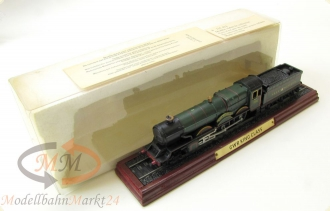 UK Dampflok GWR King Class King Henry VII 6014 Standmodell auf Gleis Spur H0