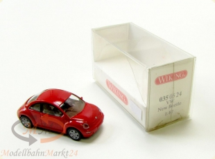 WIKING 035 05 24 VW New Beetle 2-t�rig rot Modell Ma�stab 1:87