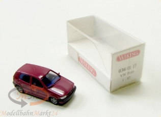 WIKING 036 01 17 VW Polo 4-t�rig violett Inneinrichtung Modell im Ma�stab 1:87