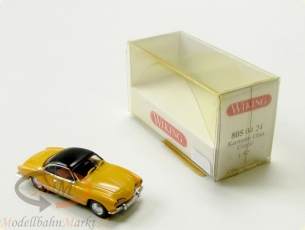 WIKING 805 04 24 Karmann Ghia Coupe 2-t�rig Verdeck gelb Modell im Ma�stab 1:87