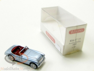 WIKING 816 07 23 Austin Healey 3000 in silber Modell im Ma�stab 1:87