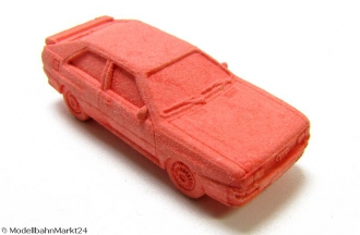Radiergummi Porsche 930 Turbo rot orange Tombola Kindergeburtstag