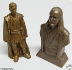Star Wars Figuren gold/braun ca. 9,5 cm