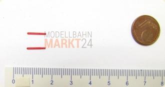 für FLEISCHMANN PRESS Flachwagen Res N NEU Ersatz-Rungen 4 Drehrungen grün z.B