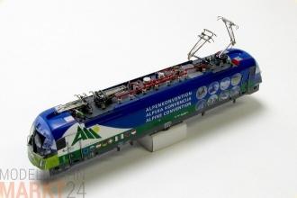 NEU für ROCO SJ Elektrolok RC6 Spur H0 1:87 Ersatz-Gehäuse 1422 blau//grau z.B