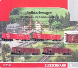 Fleischmann N 829351  Güterwagenwagen  DB Cargo  NEU /& OVP