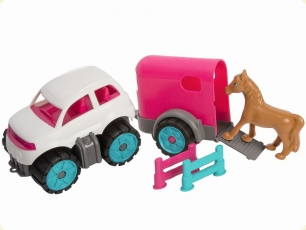 BIG 800055793 BIG-PW Mini Ponytransporter-Set