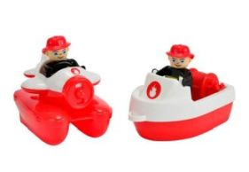 BIG 800055133 BIG-Waterplay Fire-Boat-Set