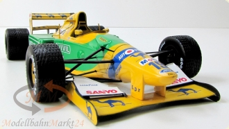 PAUL'S MODEL ART Benetton Ford B 192 Michael Schumacher Camel 1992 1:18 - OVP