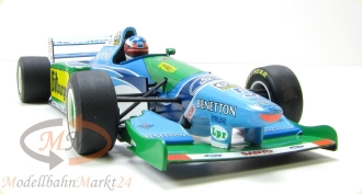 PAUL'S MODEL ART Benetton Ford  B193B Michael Schumacher 1994 Scale 1:18 - OVP