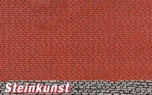 Neu Vollmer 48824 L 53,5 x B 34 cm G Mauerplatte Bruchstein aus Steinkunst